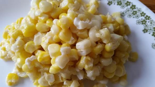 Corn I Froze This Summer (love It In The Winter)