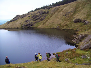 Photo: C walk to Lake Mohra in the Comeraghs, May 19th, 2013. Leader Liam Doheny. Photo Brendan Sheils. 1/3
