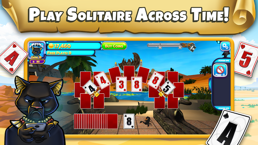Solitaire Time Warp - #1 Solitaire Adventure Game