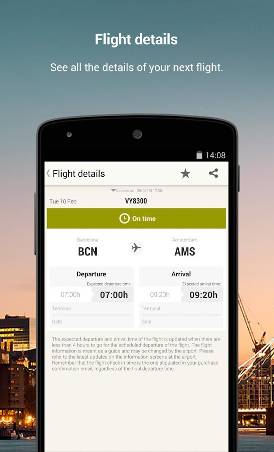 Vueling - Cheap Flights- screenshot