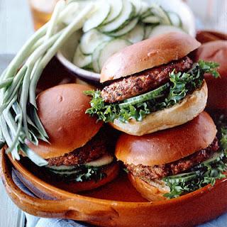 Chicken Burgers.