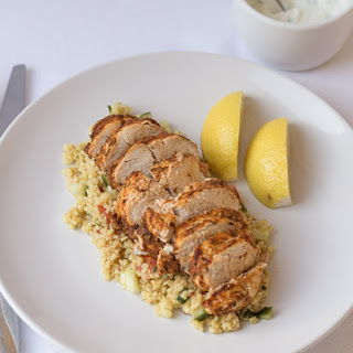 Cajun Spiced Oven Baked Chicken.