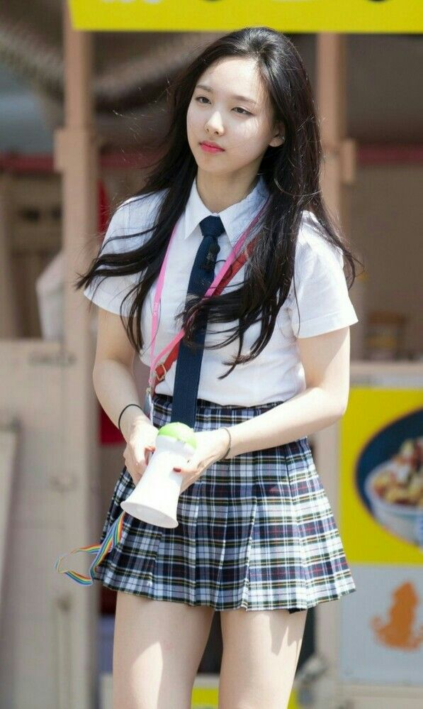 nayeon uniform 1