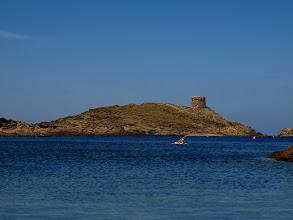 Photo: Cala des Tamarells i sa Torreta