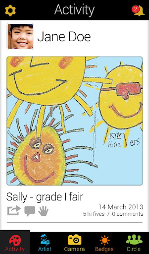 Save and Print Kids Artwork  screenshots 2