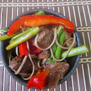 Beef Asparagus/Green Bean Stir Fry