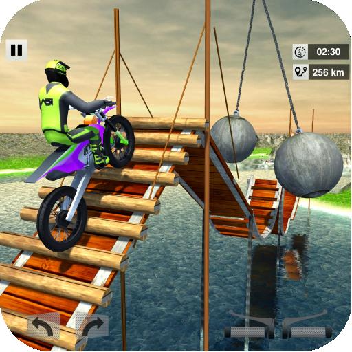 Bike Stunt Mega Tracks: Sky Ramp