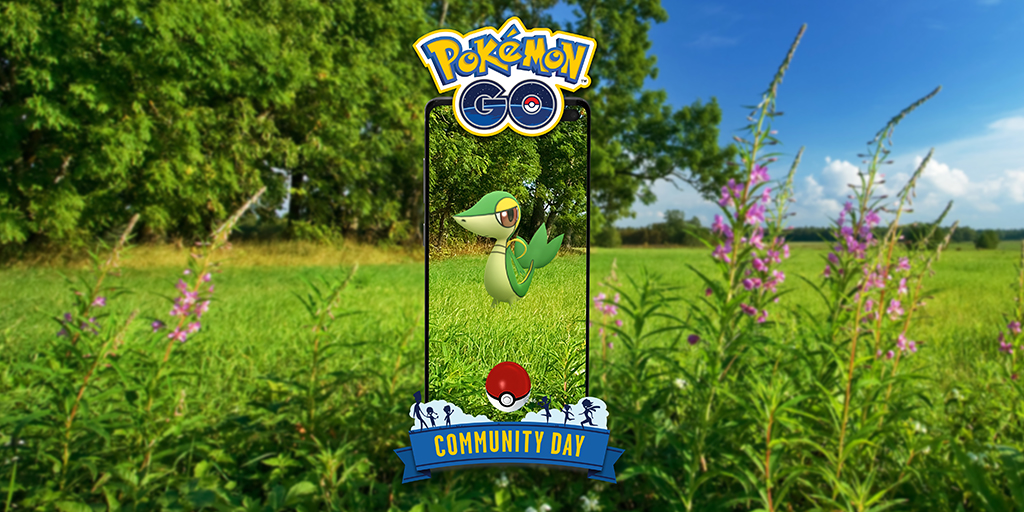 Snivy stars during April Community Day!