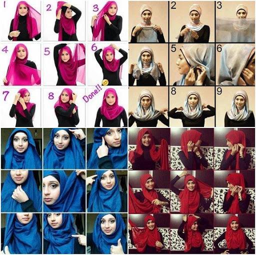 Hijab Tutorials For Fashion