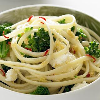 Linguine with Broccolini and Ricotta.