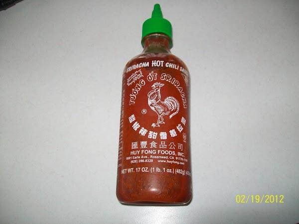 "Top with hot sauce "" optional """