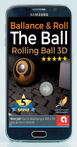 Balance and Roll the Ball