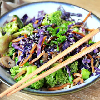 Garlic Ginger Quinoa and Vegetable Stir Fry Recipe