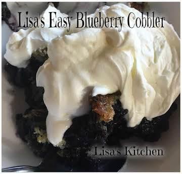Lisa's Easy Blueberry Cobbler