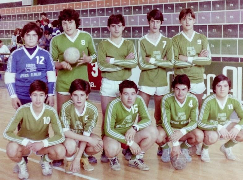 Promoción de 1968 con Alberto Gómez, Joaquin Borbalán...