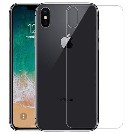 iPhone X/XS - Pansarglas för Baksida (HeliGuard)