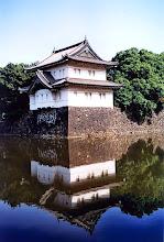 Photo: Tokio - baszta na murze Pałacu Cesarskiego / Tokyo - Imperial Palace fortifications