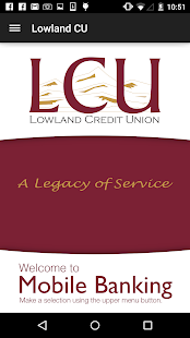 Lowland Credit Union- screenshot thumbnail