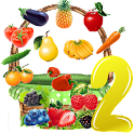 Bucket Fruit 2  sort kids game icon