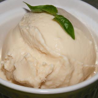 Basil Honey Frozen Yogurt.