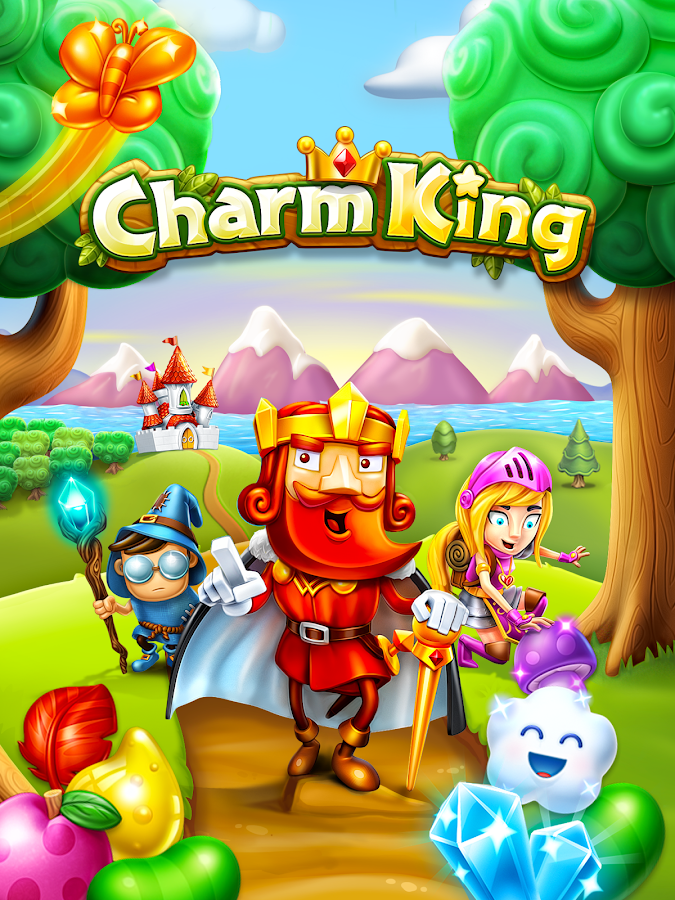Screenshots of Charm King for iPhone