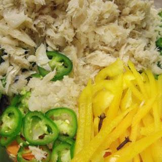Cod Fish Salad
