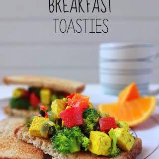 Tofu Breakfast Toasties.