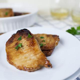 Smoked Sugar Rubbed Pork Chops Recipe