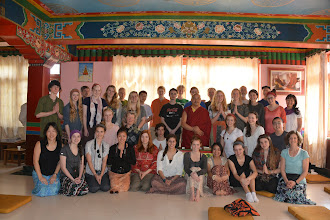 Photo: A group photo with our Lama!