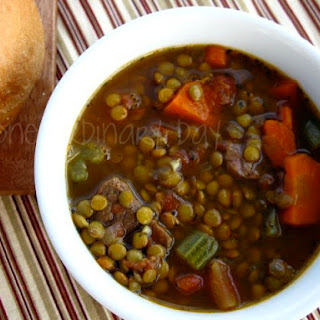 Beef Vegetable Lentil Soup Recipes