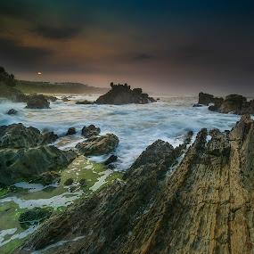 Sawarna Beach by Agung Hendramawan - Landscapes Beaches ( #sawarnabeach, #sawarna )