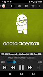 screenshot of Podcast Addict (Android 2.3)