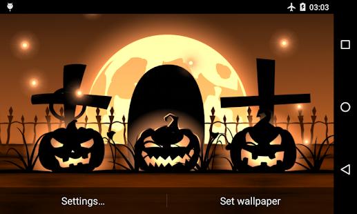 Halloween Live Wallpaper Free Screenshot