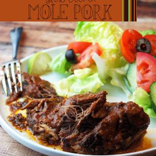 Simple Paleo Slow Cooker Pork Mole