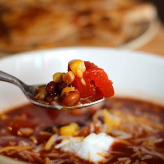 Crockpot Taco Soup Recipe