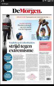 De Morgen digitale krant screenshot 6