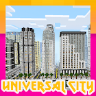"Map ""Universal City"" for MCPE icon"