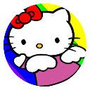 Hello Kitty cartoon HD New Tab page thread