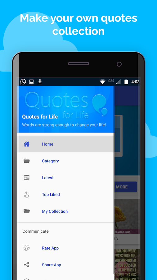 Quotes For Life : Status Images For Whatsapp & FB