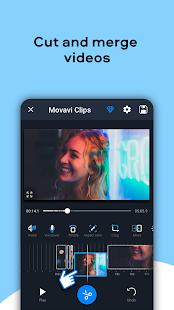 Edytor wideo Movavi Clips Screenshot