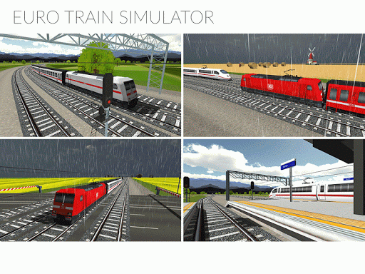 Euro Train Simulator  gameplay | by HackJr.Pw 7