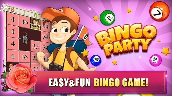 Bingo Party - Free Bingo Games Screenshot
