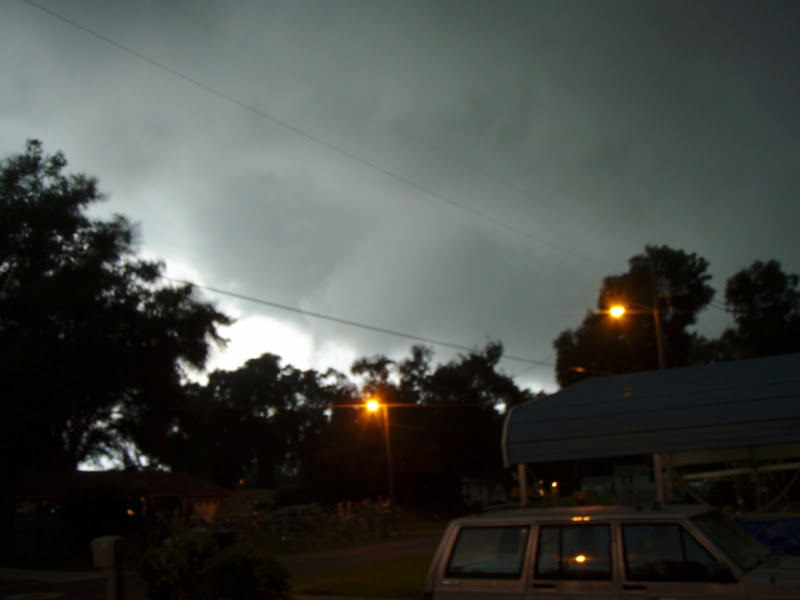 Photo: SEvere thunderstorm, 6 July, 2012. These were taken at about 7:20am. Camera was too wet to autofocus.