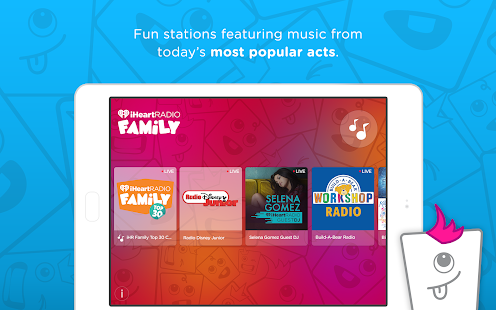 iHeartRadio Family- screenshot thumbnail