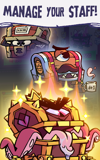 Dungeon, Inc.: Idle Clicker poster