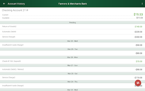 F&M Bank screenshot 11
