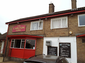 Photo: On to Cambridge! My pub crawl started at the Carlton Arms neighborhood pub just north of the town center.