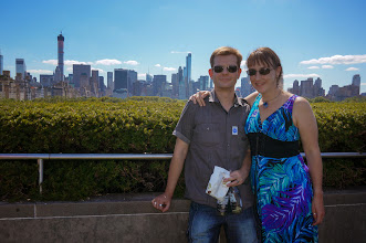 Photo: On the roof of the Metropolitan Museum of Art