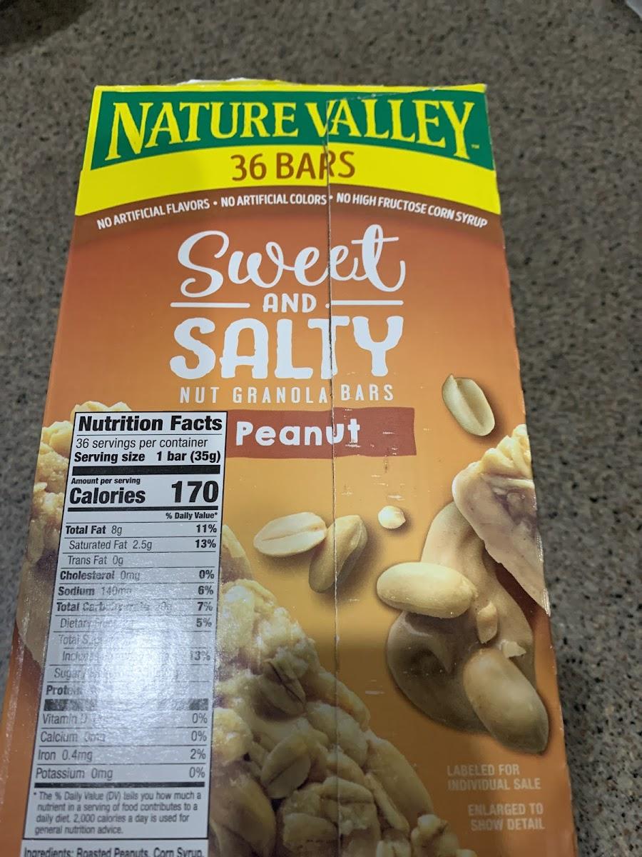 Nut Granola Bars