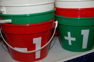 Photo: Voting buckets